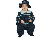 Morris Costumes UP-295TS Baby Police Officer 9 To 12 Mo