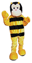 Morris Costumes UP-356 Bumble Bee Mascot Adult One Sz