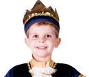 Morris Costumes UP-696 Crown Child Blue
