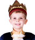 Morris Costumes UP-697 Crown Child Red