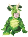 Underwraps 26030TL Triceratops Large 2-4 Toddler