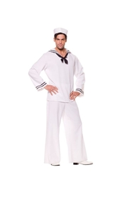 Underwraps 29066XL Sailor Shirt White Male Xl
