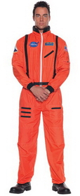 Underwraps 29137XXL Astronaut Mens Orange Xxlarge