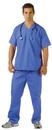 Underwraps 29424XXL Blue Scrubs Adult Xxl (48-50)