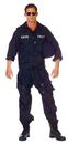 Underwraps 29429 Swat Adult One Size