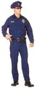 Underwraps 29433XXL Officer Adult Black Xxl 48-50