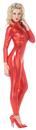 Underwraps 29456RDXL Stretch Jumpsuit Red Xlarge