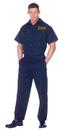 Underwraps 29471 Coroner Shirt Adult 42-44