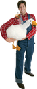 Morris Costumes VA-1004 Big Fat Goose Arm Puppet