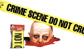Morris Costumes VA-344 Crime Scene Tape Do Not Cross