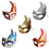 Oparty Mixed Enchantress Masks, Costume Accessory