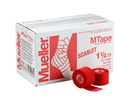 Mueller MTape Scarlet, 2 Pack (2 rolls shrink wrapped), 1.5