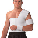 Mueller Shoulder Brace, Left, White, Md, Bulk Bag