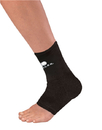 Mueller Elastic Ankle Support, Black, Lg