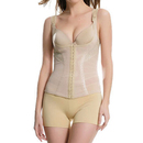 Muka Firm Compression Miracle Vest Shapewear Waist Cincher Wear Your Own Bra