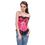 Muka Women's Victorian Tapestry Brocade Fashion Corset Top, Gift Idea
