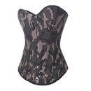Muka Army Camouflage Fashion Corset, Halloween Costume