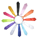 TopTie Wholesale 12 Pcs Kid's Solid Color Neckties, 10 Inch Ties