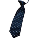 TopTie Kid's Blue Polka Dot Neckties 10