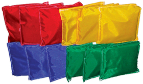 "Norbert's Athletic Bean Bags 6"" x 6"" Set of 12, Price/dz."