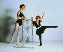 Norbert's Athletic 6' Freestanding Ballet Bar (bar on both sides)