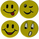 Norbert's Athletic Poly Faces, Set of 4