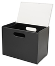 Hipce SFR-03C-LTKD Portable Plastic Filing Tote With Transparent Cover