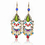 Aspire Brass Tone Tribal Drop Earrings, Halloween Decorations