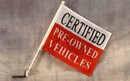 NEOPlex C-006 Certified Pre-Owned Car Window Flag