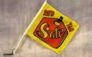 NEOPlex C-014 Sale Red Tag Car Window Flag