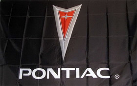 NEOPlex Pontiac Automotive Logo 3'x 5' Flag