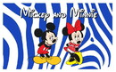 NEOPlex F-1025 Mickey N Minnie 3'x 5' Flag