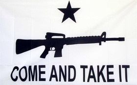 NEOPlex Come And Take It Carbine 3'x5' Flag 35