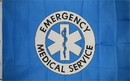 NEOPlex F-1152 Emergency Medical Service 3'x 5' Flag