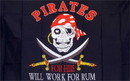 NEOPlex F-1273 Will Work For Rum Pirate Premium 3'x 5' Flag