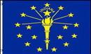 NEOPlex F-1641 Indiana State 2'x 3' Flag