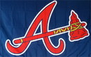 "NEOPlex F-1913 Atlanta Braves ""A"" 3'x 5' MLB Flag"