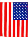"NEOPlex F-2615 American 28""x 40"" Vertical Polyester Flag"