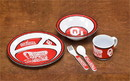 BSI K31019 Oklahoma Sooners Kid Dish Set