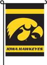 """BSI K83024 Iowa Hawkeyes 13""""x 18"""" Garden Banner Flag"""