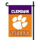 "BSI K83025 Clemson Tigers 13""x 18"" Garden Banner Flag"