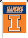 BSI K83041 Illinois Fighting Illini Garden Banner Flag
