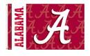 BSI K92002 Alabama Crimson Tide College 3'x 5' Double Sided Flag