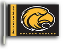 BSI K97065-SOUTHERN-MISS Southern Miss Golden Eagles Double Sided Car Flag