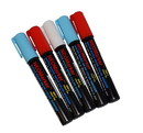 "NEOPlex NM-1USA 1/4"" Lady Liberty Chisel Tip Waterproof Sign & Art Marker Pens- Full 5 Pc Set"