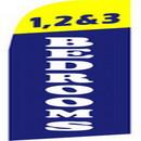 NEOPlex SWF-028 1, 2 & 3 Bedrooms Swooper Flag