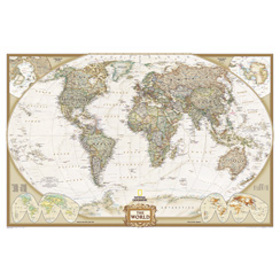 World Executive - enlarged & laminated, RE00622088