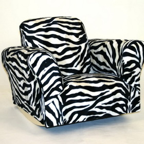 Komfy Kings 01067 Standard Rocker Zebra