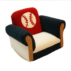Komfy Kings 11992 Baseball Deluxe Rocker