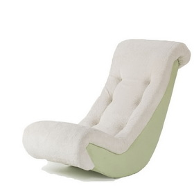 Komfy Kings 70510 Banana Rocker Lime Micro with Sherpa